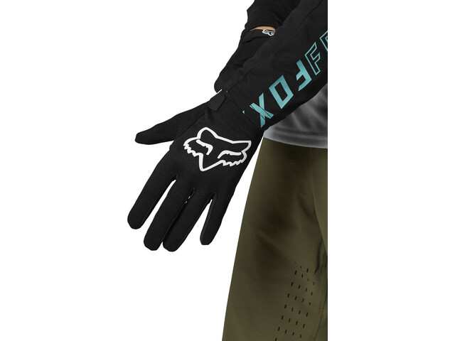 Fox Defend Gloves Youth, black